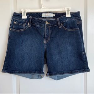 Torrid Dark Wash Jean Shorts